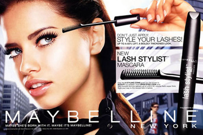 Beauty Product Advertisements