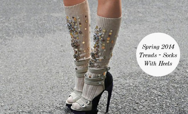 Spring 2014 Trends - Socks With Heels